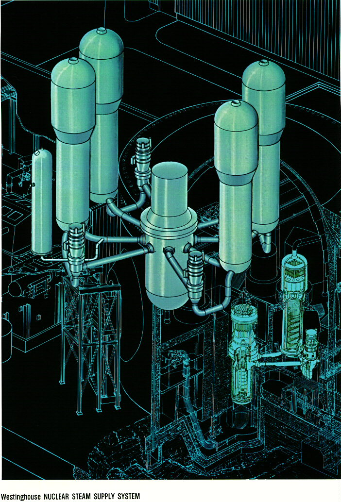 Nuclear Pressurized Water Reactor (PWR) - Thermal Systems