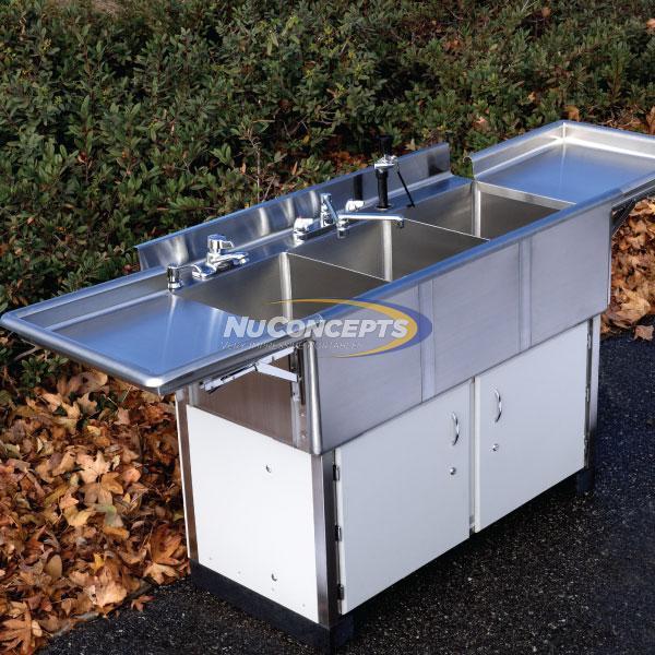 Portable Deli Scullery Sinks Nuconcepts