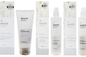 THE FACE SHOP Skin Care Featuring White Seed