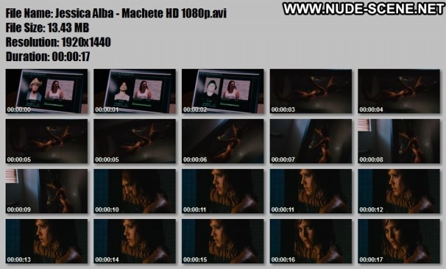 Alicia Marek Nude Sexy Scene Machete Salvadoran Dominican