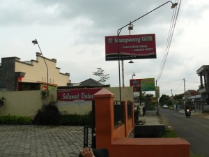Halaman Luar Kampung GOR