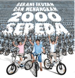 2000 Sepeda Indomilk