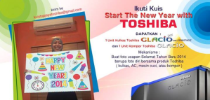 Start The New Year with Toshiba
