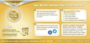 Kontes Play Time Planner - Vitalac