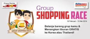 Shopping race alfamart