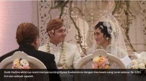 Pernikahan dude dan icha