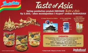 promo indomie taste of asia