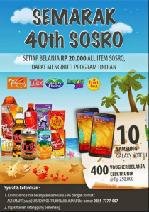 40 th sosro