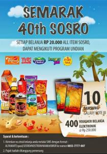 40 th sosro