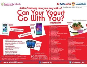 62 Pemenang Share Your Story With Us (Heavenly Blush - Alfamidi)