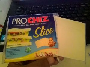 Prochiz Slice : Keju Lembaran Yang Asik Buat Jambalan :)