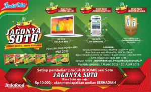 Indomie Soto, Berhadiah Samsung Galaxy Tab
