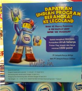 Frisian Flag Jelajah/ Karya Berhadiah Trip To Legoland