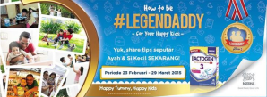 How to be  A Legendaddy With Nestle Lactogen 3