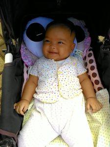 5 Bulan Baby Anindya : Mulai Menikmati Perjalanan Malam
