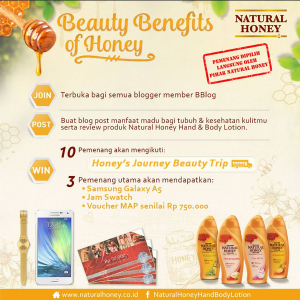 Beauty Benefits Of Honey, Review Contest!