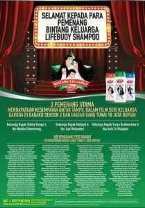 Pemenang Bintang Keluarga Lifebuoy Shampo