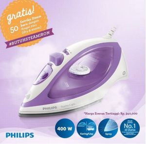 50 Pemenang Butuh Steam IronPhilips #Periode2