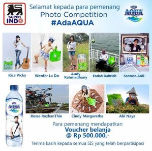 Pemenang Photo Competition Ada Aqua - Superindo