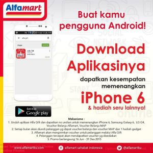 Download Aplikasi Alfa Gift Yuk! Banyak Gratisannya Looh