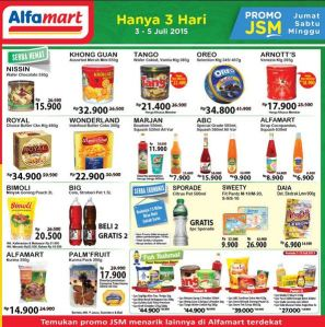 JSM Alfamart (03 - 05 Juli 2015)
