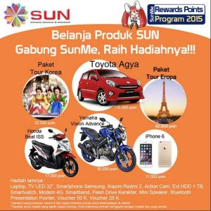Rewards Point SUN Indonesia 2015