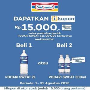 Beli Pocari Sweat Gratis Soyjoy Senilai Rp.15.000