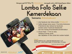 Kontes Foto Selfie Kemerdekaan Berhadiah Sprei Kintakun