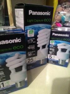 Panasonic Light Capsule Eco - Cool Day Light : Cantik Rupa Cantik Harga