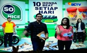 10 Pemenang Honda Beat Undian So Nice (02 September 2015)