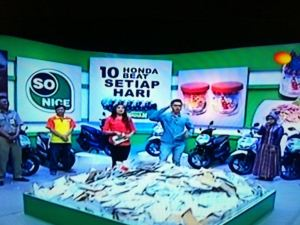 10 Pemenang Honda Beat Undian So Nice (08 September 2015)