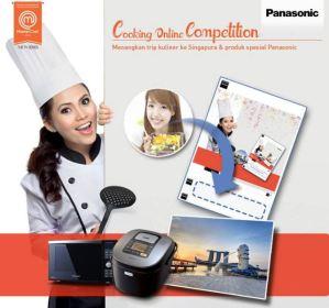 Panasonic Cooking Online Competition Berhadiah Trip Ke Singapura