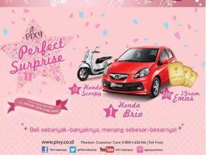Gebyar Promo Pixy 2015 Berhadiah Honda Brio