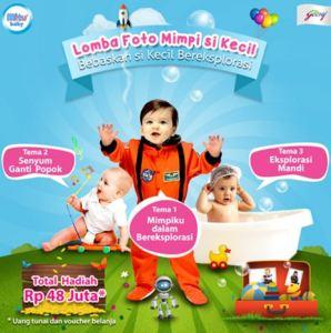 Lomba Foto Mimpi Sikecil Bersama Mitu Baby Berhadiah Total 48 Juta