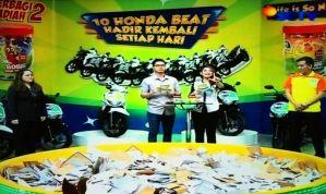 Pemenang 10 Honda Beat Sonice Tahap 2 (Hari Ke - 3)