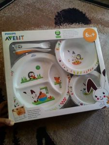 Philips Avent Toddler Mealtime Set : Hadiah Avent Working Mom