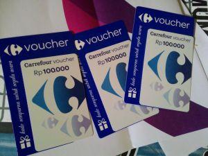 Voucher Carrefour 300K : Hadiah Kreasi Resep Makanan Fav Sikecil Ibu & Aku