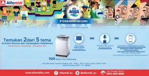 Temukan Indonesiamu (Aqua - Alfamidi) Berhadiah 100 Mesin Cuci Samsung
