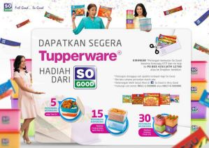 Gratisan Tupperware Dari So Good