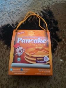 Pancake Original Isacafood : Asli Originalnya Walau Agak Asin