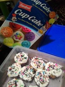 Cup Cake Isacafood : Agak Pahit Rasanya