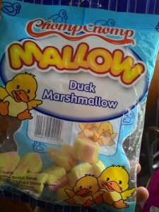 ChompChomp Mallow : Marshmallow Bentuk Bebek
