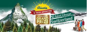 Ricola Berhadiah Trip Ke Swiss
