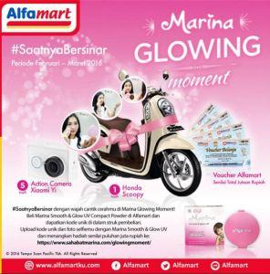 Marina Glowing Moment Berhadiah Honda Scoopy