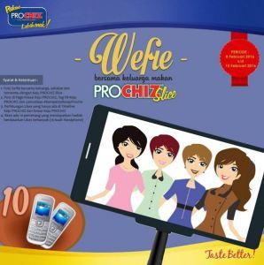 Wefie Bersama Keluarga Menikmati Prochiz Slice Berhadiah Hape Samsung