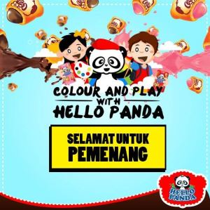 20 Pemenang Colour & Play With Hello Panda