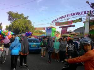GOR Satria Purwokerto : Bak Pasar Tumpah Setiap Minggu