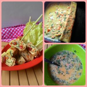 Egg Roll Vegie Cheese