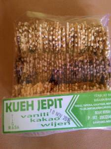 Kueh Jepit : Sitipis Manis