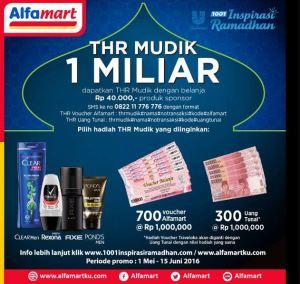 THR Mudik 1 Miliar Bersama Alfamart & Unilever